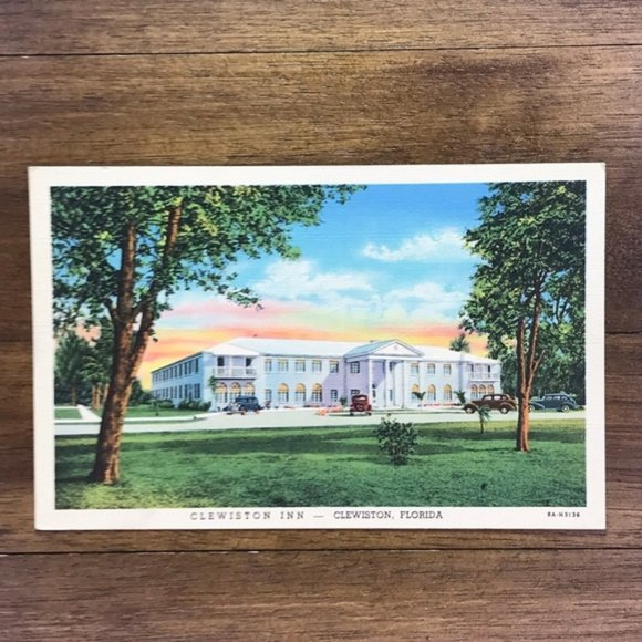 Vintage Other - Vintage Florida Souvenir Linen Travel Postcard